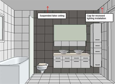 Bathroom Lighting Layout How To Arrange Sanitary Ware In My Rectangular Shaped Bathroom