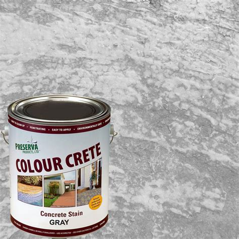 colour crete  gal gray semi transparent water based
