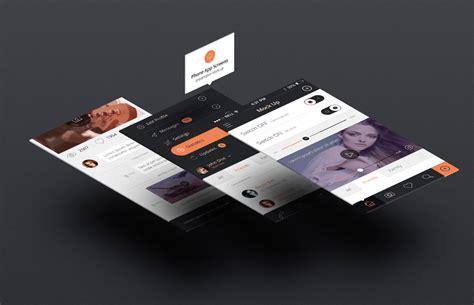 mockup design html perspective app screens mock up 8