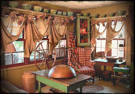 28 country primitive home decor and country