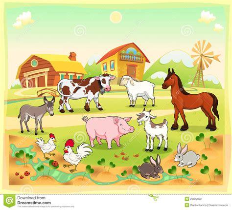 grange des animaux coloriage couleur animaux ferme