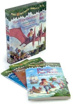 magic tree house book set magic tree house boxed set books 1 4 magic tree house