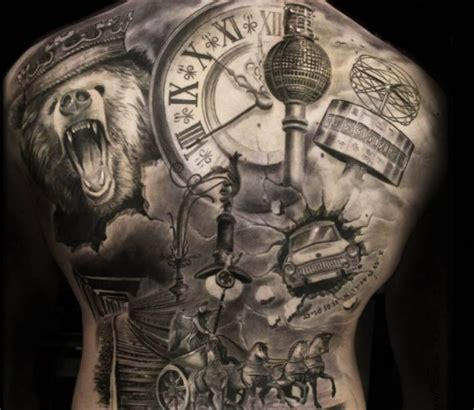 black and gray tattoo artists black and grey back by steffi eff post 14796