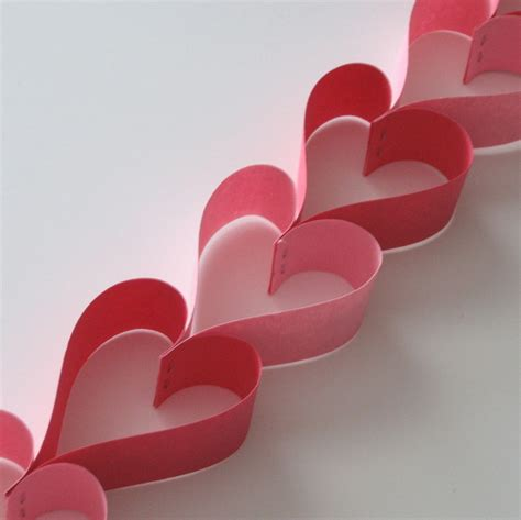 Craft Paper Hearts - easy s day crafts with construction paper