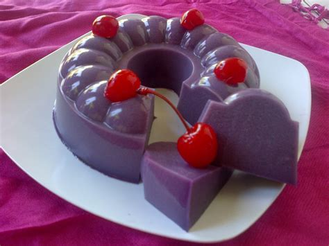 membuat puding dari ubi ungu resep membuat puding ubi ungu enak dan lembut resep