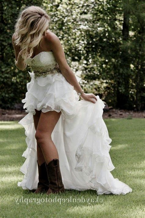 country wedding dresses with boots wedding dresses