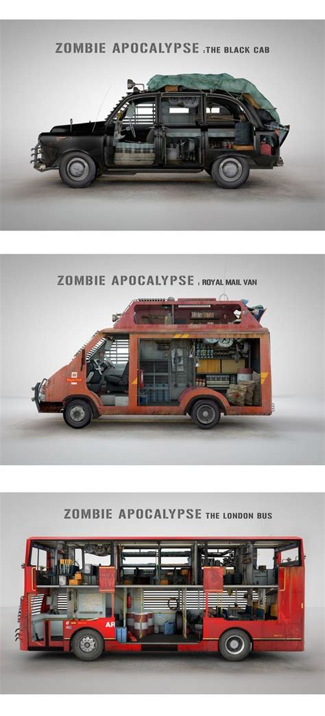 zombie survival truck zombie survival vehicles design via donal o keeffe