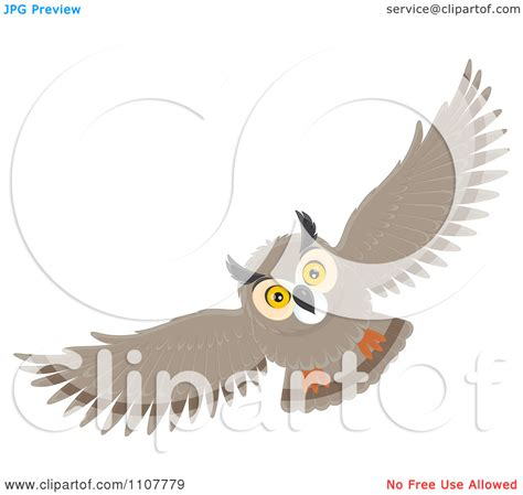 flying owl clipart flying owl clipart clipart kid