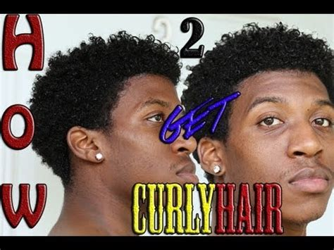 african mens hair products to make hair soft and curly how to get natural curls men s hair short hair twa