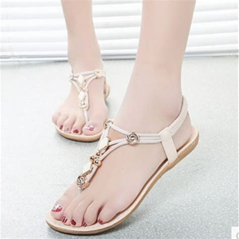 Bartier Glosy Flat Shoes 36 40 China buy wholesale zori shoes from china zori shoes