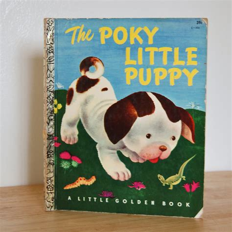 the pokey puppy the poky puppy classic golden book lgb 1960s
