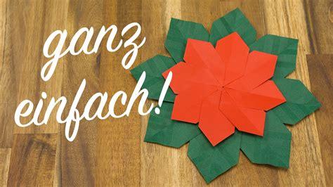 Weihnachtssterne Papier Falten by Weihnachtsstern Falten Origami Weihnachtsschmuck Basteln