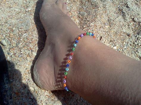 beaded anklets ankle bracelet hippiefreak