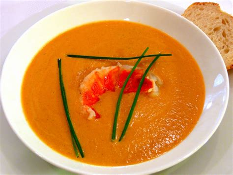 lobster bisque recipe simple lobster bisque recipe chowtown