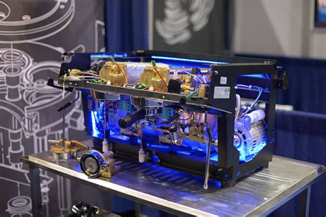 Handmade Espresso Machine - gussied up ready to go the coolest coffee machines of scaa