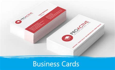 Visitenkarten Norm by Budget Business Cards Print Depot