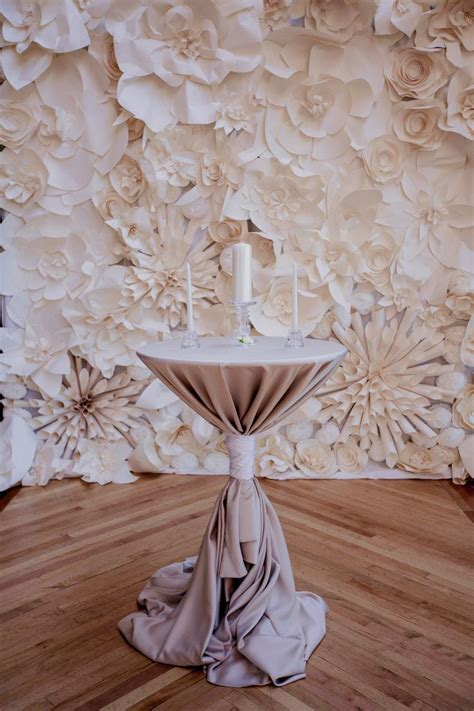 Wedding Backdrop Rentals Chicago by Paper Flower Backdrop Rental Chicago