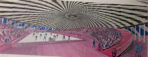 ingresso sala nervi vaticano pier luigi nervi architetture per lo sport in mostra al maxxi