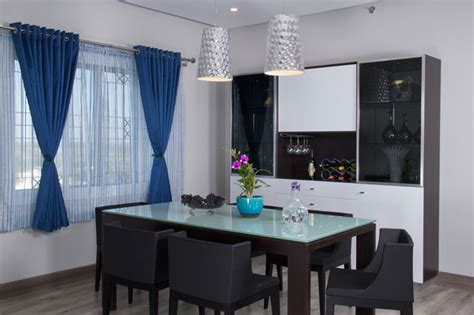 Purple Dining Room Ideas sobha althea contemporary dining room other metro