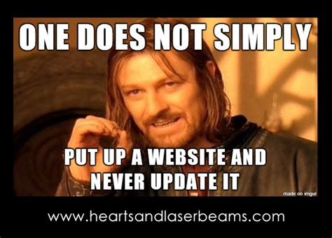 Meme Website - funny memes to celebrate our new site maintenance services