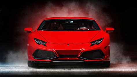 car lamborghini red lamborghini huracan red full hd wallpapers
