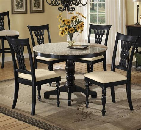 black granite top dining table set 37 dining table ideas table decorating ideas