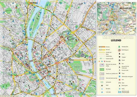printable map budapest map of budapest 187 travel