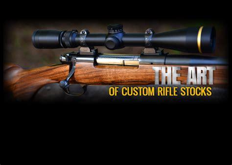 Handmade Rifle Stock - custom made rifle stocks images