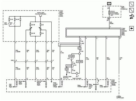 2005 Chevy Avalanche Radio Wiring Diagram Chevy Wiring
