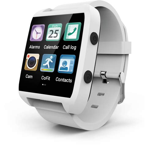 Ematic Smart Watch (White) ESW454W B&H Photo Video