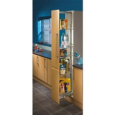 kesseböhmer base cabinet pull out storage 300mm hafele pull out larder unit 300mm chrome cabinet storage