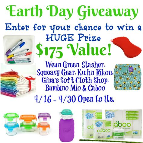Earth Day Giveaways - earth day prize pack giveaway just sweep
