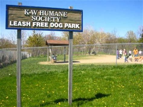 kitchener waterloo humane society leash free park