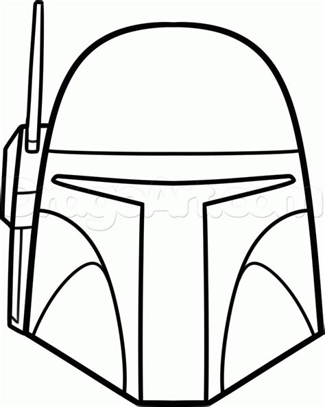darth vader helmet coloring page coloring home