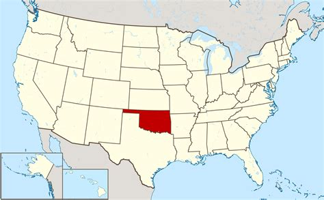 image gallery large oklahoma state map large location map of oklahoma state oklahoma state large