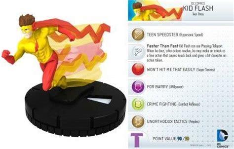 Miniatur Kid Flash 002 Dc Heroclix Wizkids kid flash 002 dc heroclix