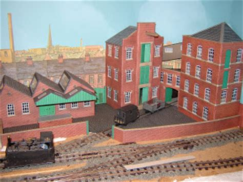 the backyard factory michael s model railways backscene and factory yard