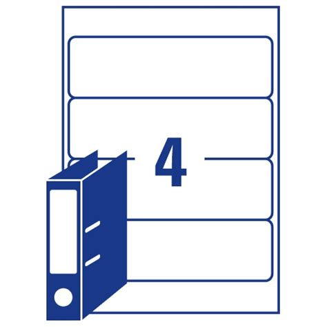 labels for lever arch files templates avery lever arch filing labels laser l7171 100 200x60mm