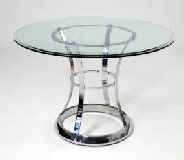 Dining Room Table Bases For Glass Tops stainless steel dining room table marceladick com