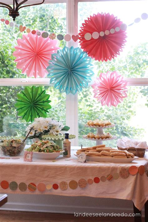 Wedding Shower Decor by Wedding Shower Decorations Landeelu