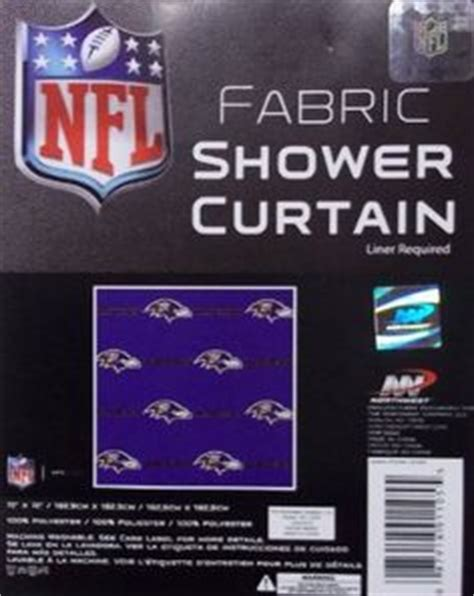 baltimore ravens shower curtain 1000 images about sports shower curtain on pinterest