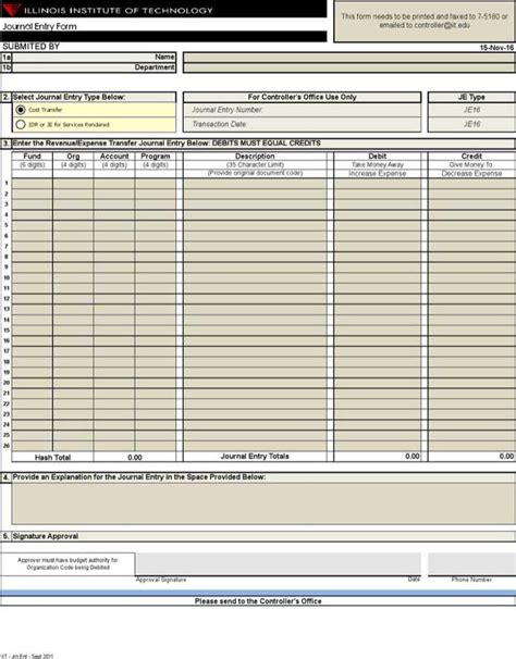 entry ledger template journal entry template excel free premium