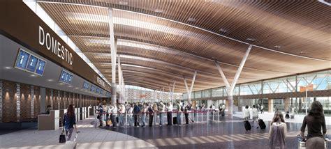 Civil Floor Plan by Nadi Airport Renovation Fiji Carolyn Mclean Architect