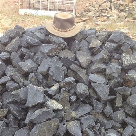 bulk landscape rock 100 300mm rock bulk landscape supplies brisbane