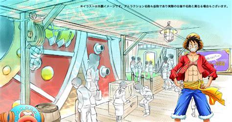 theme park anime crunchyroll quot tokyo one piece tower quot theme park to open