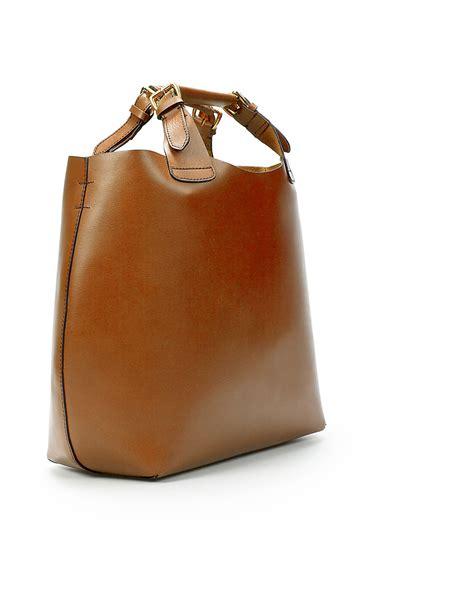Zara Bag Z125 Brown zara plaited shopper in brown lyst