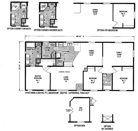 home floor plans oregon floor plans for manufactured homes leisureland homes