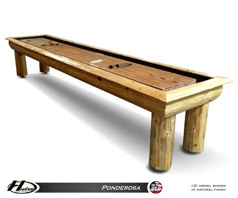 12 ponderosa shuffleboard table shuffleboard net