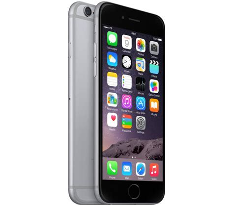 Iphone 6 64 Gb Grey By Kuboseinz mg4f2b a apple iphone 6 64 gb space grey currys pc
