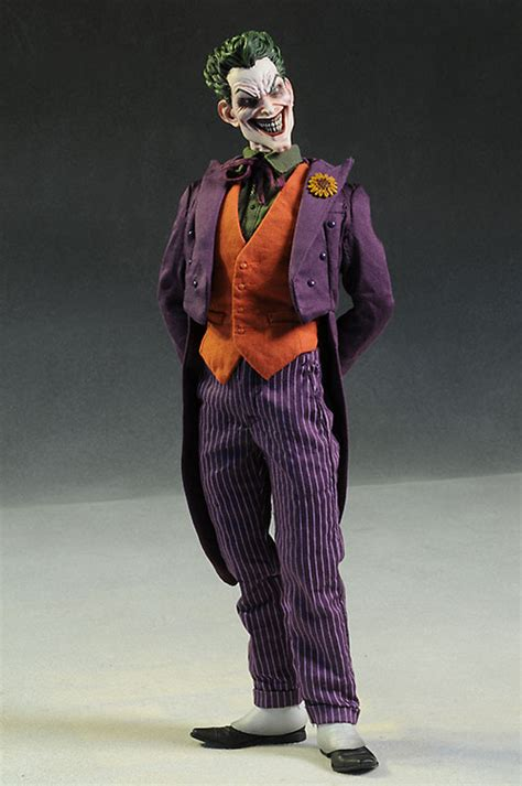 Mainan Figure Joker Arkham Animated review and photos of joker dc comics sixth scale